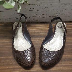 Gianni Bini Slingback Low Heel Flats Sz 8